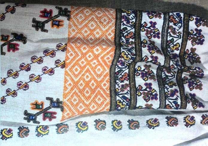 Найстаріші чернівецькі вишиванки - в одному кольорі. На Кіцманщині - птахи f9ff34244a363