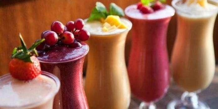 кефірні коктейлі рецепт