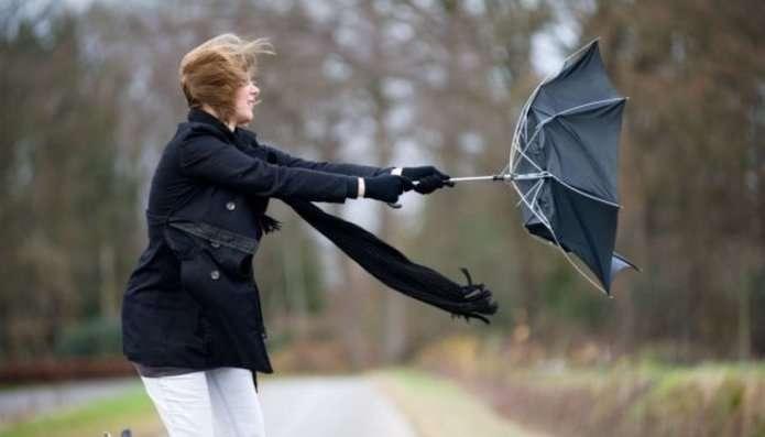 На середу в Україні прогнозують шквальний вітер