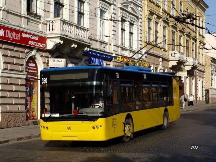 Троллейбус в Черновцах